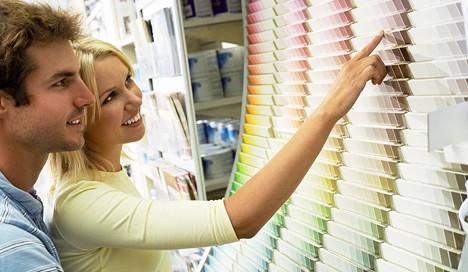 volba barev do bytu