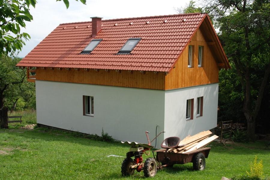 montované dřevostaby