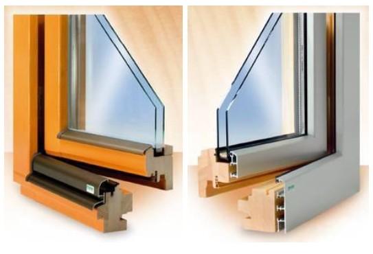 plastova, dřevěná a hliniková okna