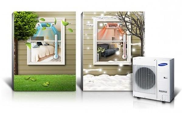 chytré klimatizace samsung