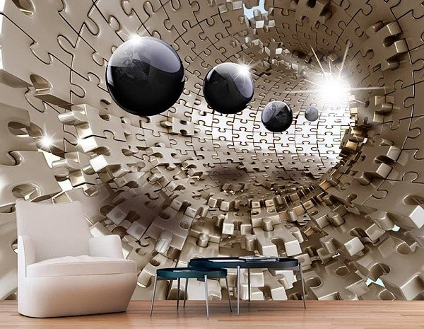 3D tapety na zeď