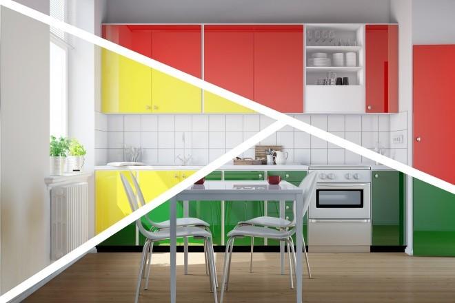 jak na barvy v bytě