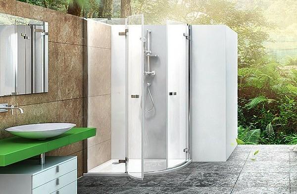 hydromasážní vany a sprchy