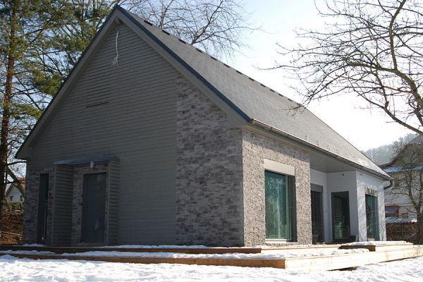 rodinné domy dřevostavby