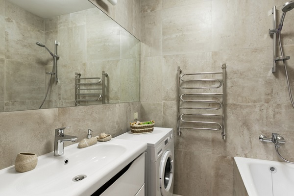 betonova koupelna