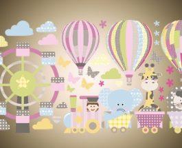Dětské nálepky na zeď: Nejen dětští hrdinové v hlavních rolích