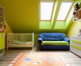 5 věcí, na které byste měli myslet při zařizování dětského pokoje