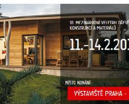 Veletrh DŘEVOSTAVBY: Obliba dřevostaveb v Česku rok od roku stoupá