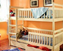 Vyřešte nedostatek místa v dětském pokoji – pomůžou patrové postele