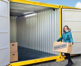 Skladovací kontejnery Diskont Depot jsou zárukou klidného spánku