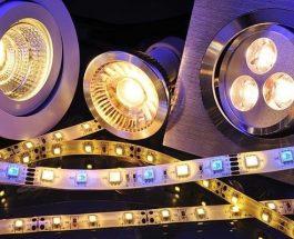 LED osvětlení se hodí do interiéru a exteriéru