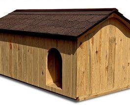 Zateplené psí boudy pro vaše mazlíčky