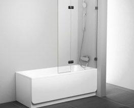 Sprchování ve vaně? S vanovou zástěnou pohodlně.