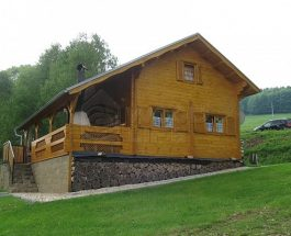 Dřevěné sruby, které si zamilujete